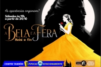 (31/10) A BELA E A FERA,O MUSICAL