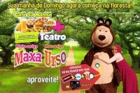 (SPPC FERIADO 25/01) Café da Manhã + Minha amiga Maxa, Meu amigo Urso