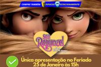 (ESP FERIADO 16/02) Sou Rapunzel