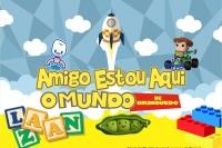 (28/04) AMIGO ESTOU AQUI – O Mundo de Brinquedo!