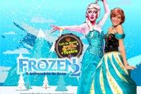 (24/08) 10h30 Café da Manhã  + Teatro: Frozen2 no aniversário de Anna