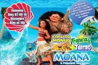 (02/12) Café da Manhã Tropical + Teatro: Moana