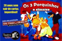 (SPPC 21/10) Os 3 porquinhos, o clássico!