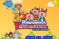(ESP FERIADO 07/09) Três Porquinhos e Um Lobo Bonzinho