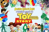 (25/08) CAFÉ DA MANHÃ + TEATRO: AMIGO ESTOU AQUI – O incrível mundo de Toy Story