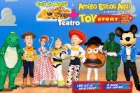 (14/09) CAFÉ DA MANHÃ + TEATRO: AMIGO ESTOU AQUI – O incrível mundo de Toy Story