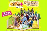(12/10 Esp Dia das Crianças ) Café da Manhã + Princesas e Contos