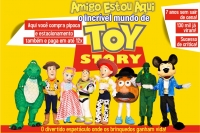 (17/11) Amigo Estou Aqui, o incrível Mundo de Toy Story