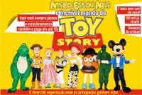 (ESP FERIADO 15/11)Amigo Estou Aqui, o incrível Mundo de Toy Story
