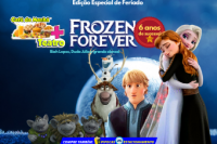 (ESP FERIADO 16/02) Café da Manhã  + Teatro: Frozen Forever (Edição Feriado)