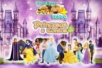 (ESP FERIADO 20/11) Comidinhas + Teatro: Princesas e Contos