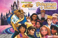 (23/02) Café da Manhã + Princesas e Contos