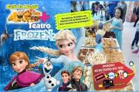 (27/10) Café da Manhã + Frozen2 no Teatro