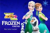 (ESP FERIADO 25/02) Comidinhas  + Teatro: Frozen Forever