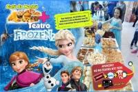 (12/10 Esp Dia das Crianças) Café da Manhã + Frozen2 no Teatro