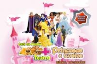 (05/10)CAFÉ DA MANHA + TEATRO: Nossas Princesas e Seus Contos!!