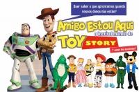 (BF 25/02) Amigo Estou Aqui, o incrível Mundo de Toy Story