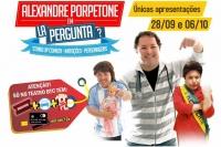 """(28/09)Alexandre Porpetone em """"La Pergunta?"""""""