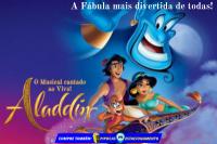 (ESP FERIADO 25/01) Aladdin Cantando Ao Vivo