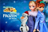 (17/11) Comidinhas + Teatro: Frozen de Natal, O Musical