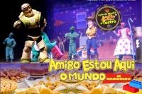 (ESP FERIADO 01/05) CAFÉ DA MANHÃ + TEATRO: AMIGO ESTOU AQUI – O Mundo de Brinquedo