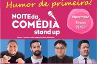(23/11) NOITE DA COMÉDIA STAND UP