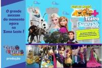 (TeOC- 06/08) Café da Manhã + Frozen2 no Teatro!