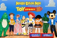 (ESP FERIADO 20/11)Amigo Estou Aqui, incrível mundo de Toy Story