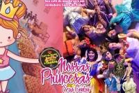 (01/09)CAFÉ DA MANHA + TEATRO: Nossas Princesas e Seus Contos!!