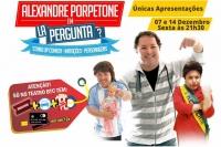 """(07/12)Alexandre Porpetone em """"La Pergunta?"""""""