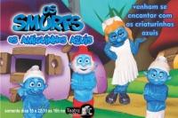 Os Smurfs, os amiguinhos azuis! (cod 018 15/10 BTC)