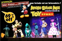 (SPPC 07/09) Especial Feriado - Amigo Estou Aqui, incrível mundo de Toy Story