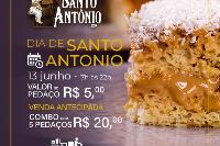 Bolo de Santo Antônio (5 pedaços embalados individualmente)