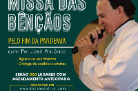 MISSA DAS BÊNÇÃOS CAMPAL COM PADRE JOSÉ ANTÔNIO