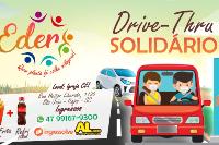 Drive Thru solidário Eder