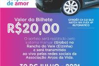 SORTEIO BENEFICENTE - Hospital do Amor