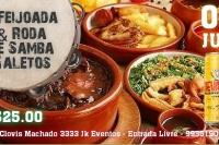 1° Feijoada & Roda de Samba Galetos