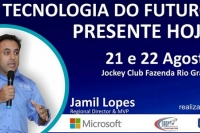 A tecnologia do futuro, presente hoje - Palestra 02 - 22/08 - MANHÃ - Comendador Eng. Jamil Lopes