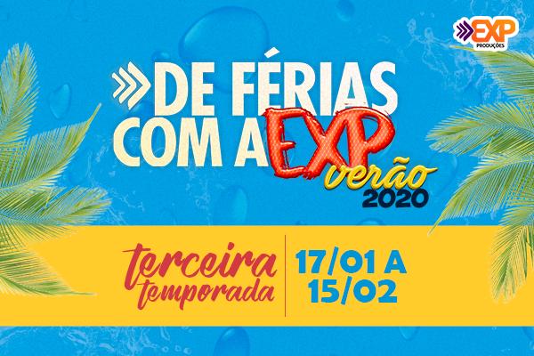Pacote - De Férias com a EXP - Verão 2020