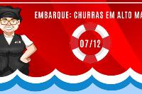 Embarque: Churras em Alto Mar