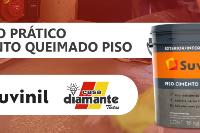 Workshop Cimento Queimado para Piso Suvinil (RP)