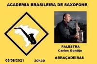 PALESTRA - ABRAÇADEIRAS - Carlos Gontijo - 05/08/2021 - 20h30