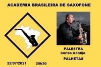 PALESTRA - PALHETAS - Carlos Gontijo - 22/07/2021 - 20h30