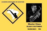 MASTER CLASS DE SAXOFONE com ELIAS COUTINHO - 18/09/2021 - 16h