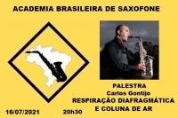 PALESTRA - RESPIRAÇÃO DIAFRAGMÁTICA E COLUNA DE AR - Carlos Gontijo - 16/07/2021 - 20h30