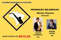 PROMOÇÃO - R$19,90 ALUNO OUVINTE NAS MASTER CLASSES DILSON FLORÊNCIO E ADEMIR JUNIOR - 05/06/2021