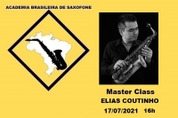 MASTER CLASS DE SAXOFONE - ELIAS COUTINHO - 17/07/2021 - 16h