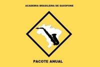 PACOTE ANUAL - ACADEMIA BRASILEIRA DE SAXOFONE