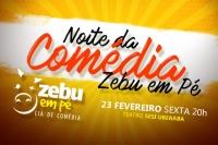 Noite da Comédia com Zebu em Pé