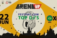 Arena Up - Festival com Top Dj's